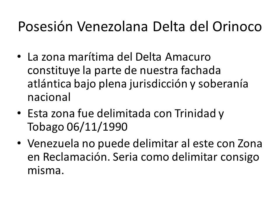 Posesión Venezolana Delta del Orinoco