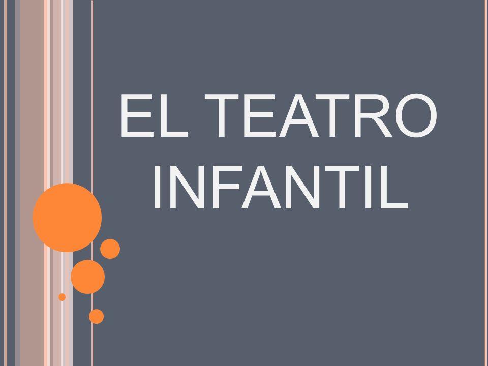 EL TEATRO INFANTIL