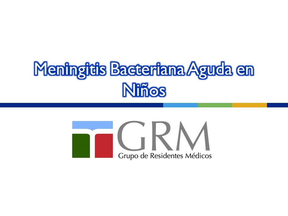Meningitis Bacteriana Aguda en Niños