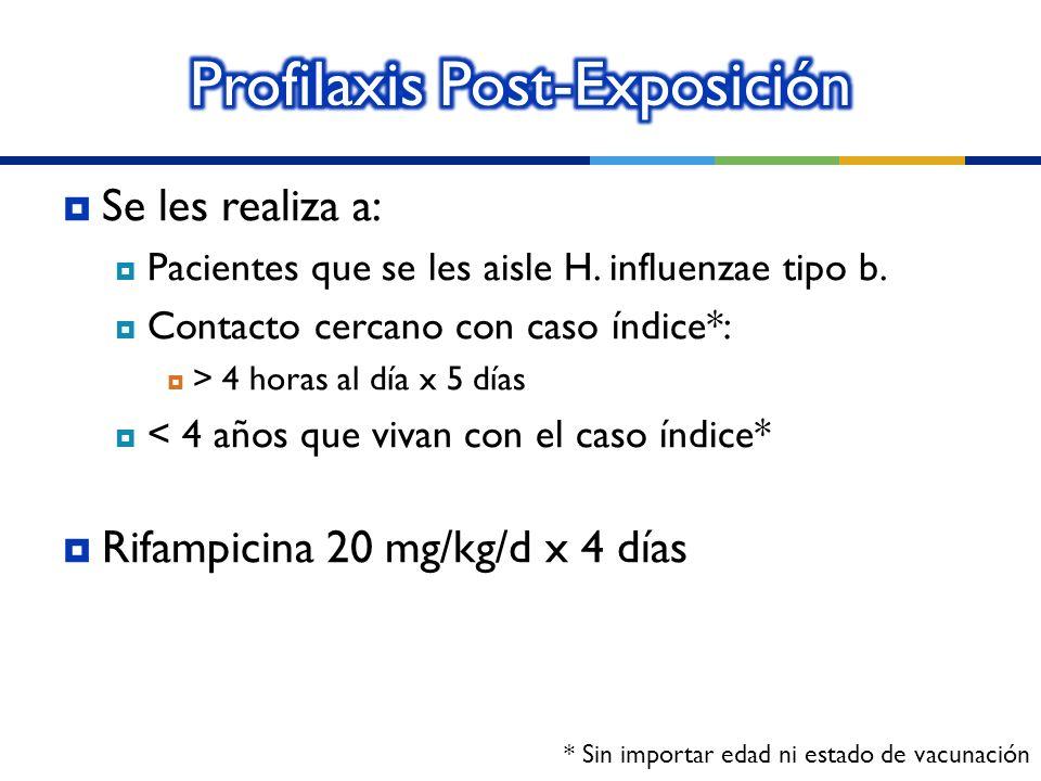 Profilaxis Post-Exposición