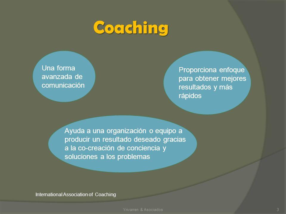 Coaching Una forma avanzada de comunicación
