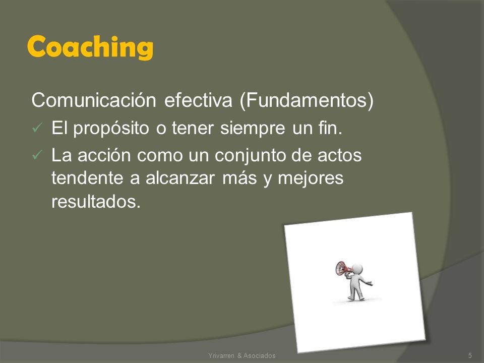 Coaching Comunicación efectiva (Fundamentos)
