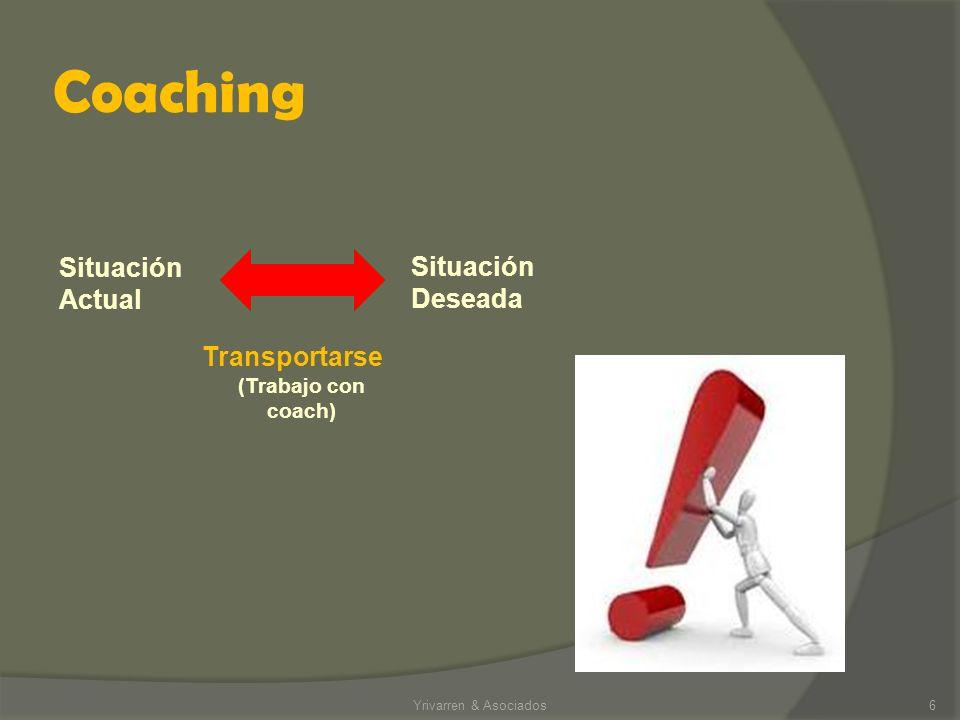 Coaching Situación Actual Situación Deseada Transportarse