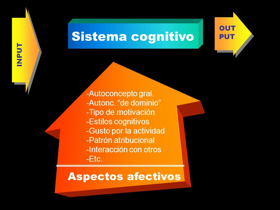 Sistema cognitivo Aspectos afectivos -Autoconcepto gral.