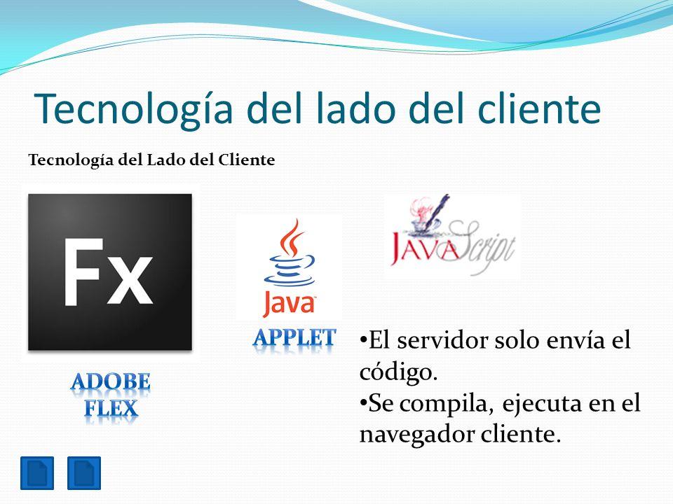 Tecnología del lado del cliente
