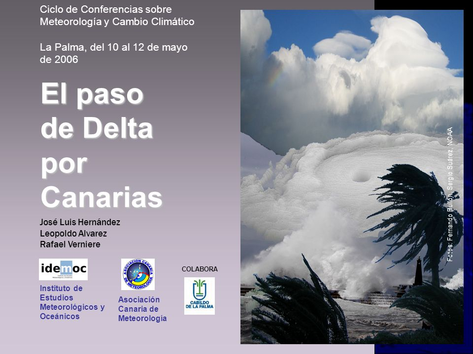 El paso de Delta por Canarias