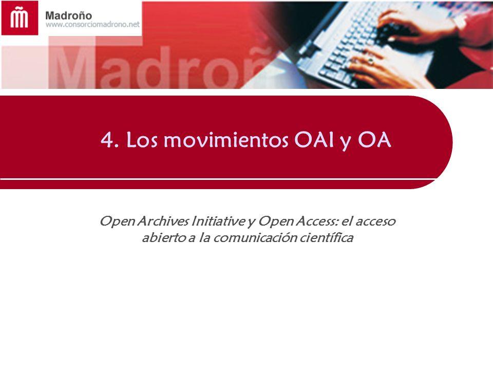 4. Los movimientos OAI y OA
