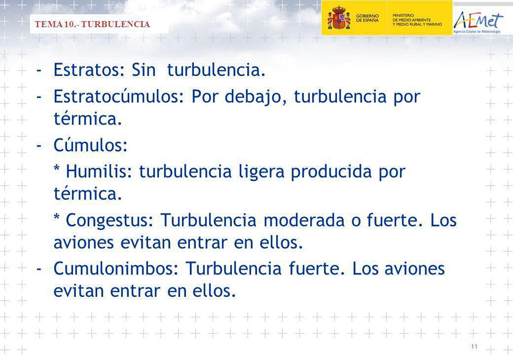 - Estratos: Sin turbulencia.