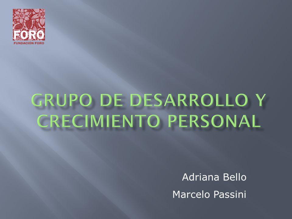 GRUPO DE DESARROLLO Y CRECIMIENTO PERSONAL