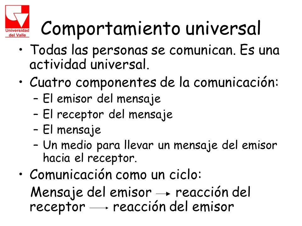 Comportamiento universal
