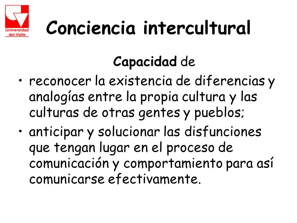 Conciencia intercultural