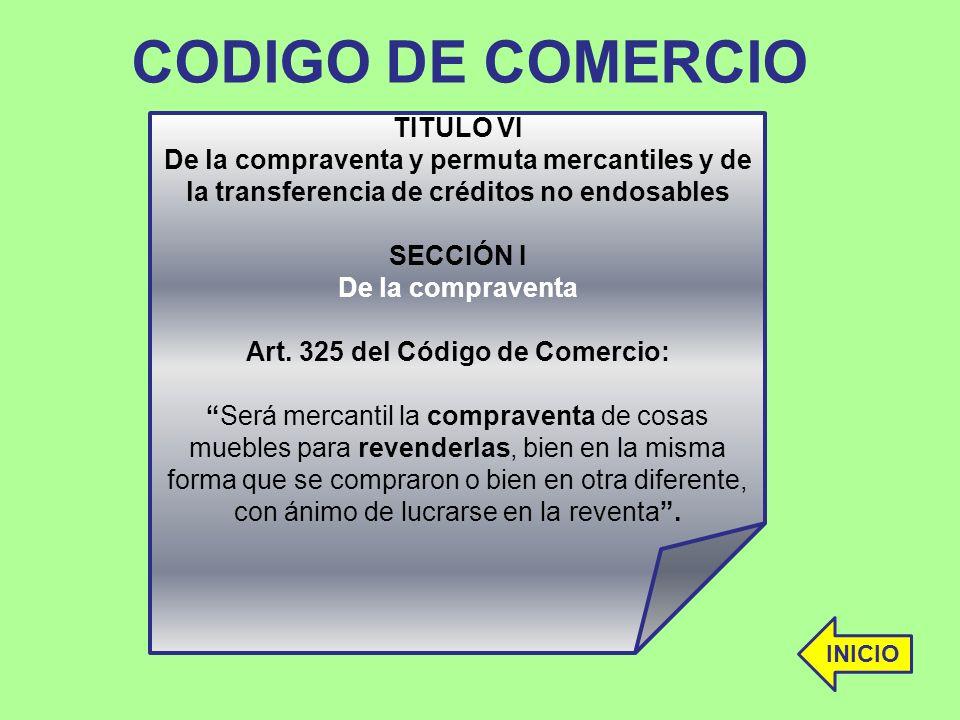 Art. 325 del Código de Comercio: