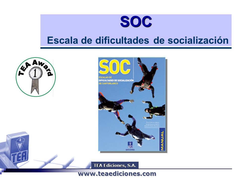 SOC Escala de dificultades de socialización