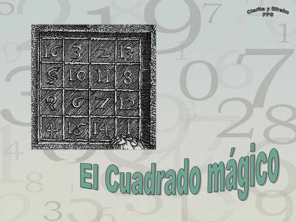 Clarita y Efraim PPS El Cuadrado mágico