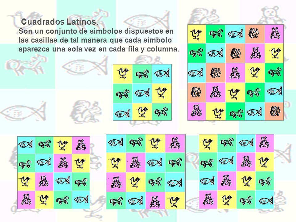 Cuadrados Latinos.