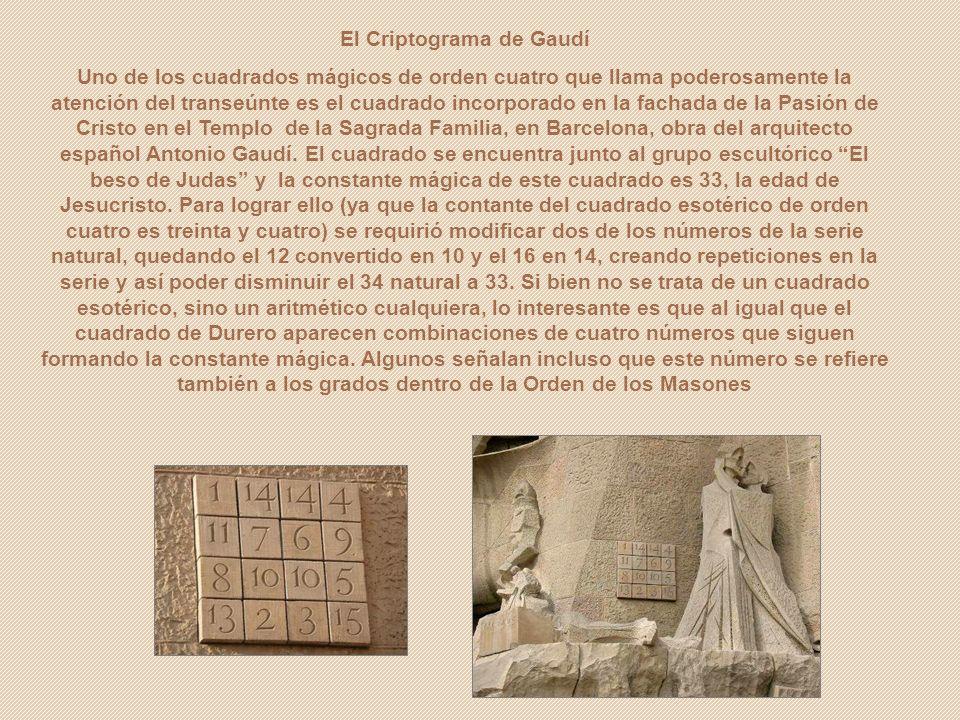 El Criptograma de Gaudí