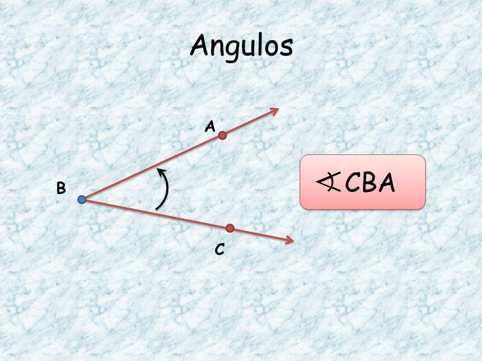 Angulos A CBA B C