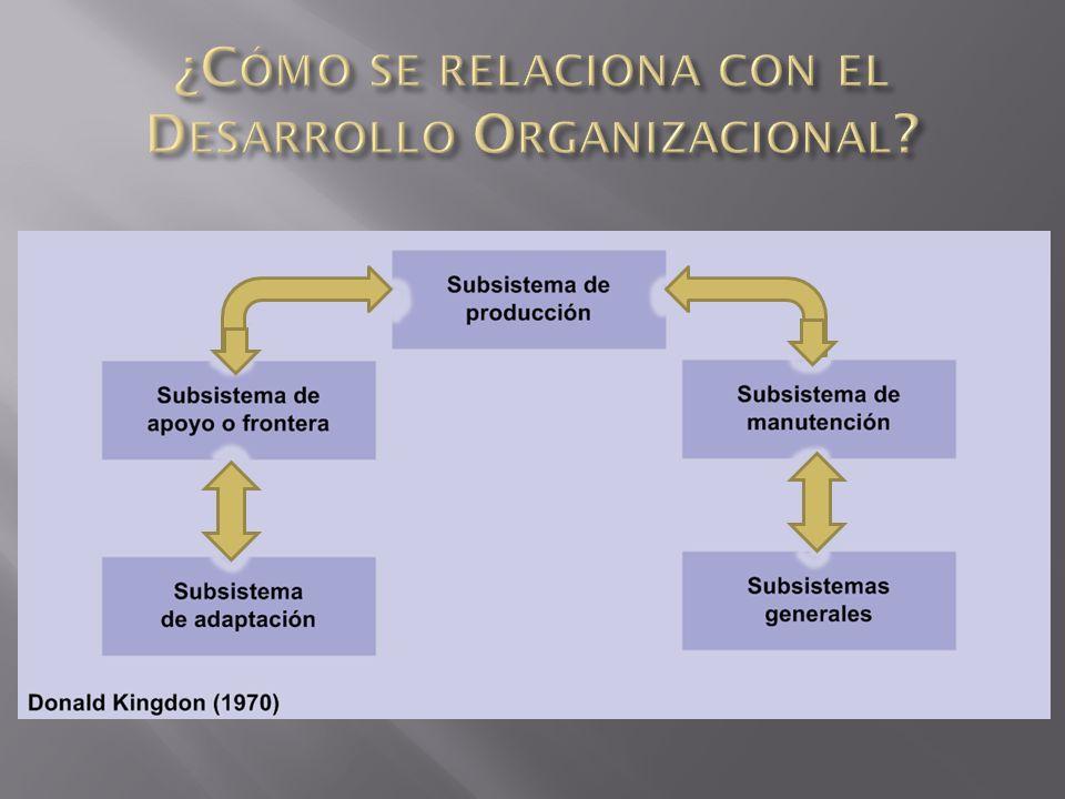 ¿Cómo se relaciona con el Desarrollo Organizacional
