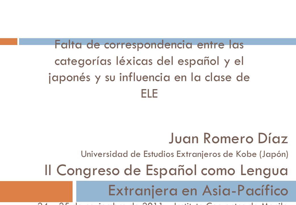 II Congreso de Español como Lengua Extranjera en Asia-Pacífico