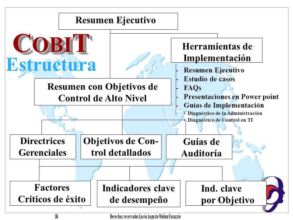 COBIT Estructura Resumen Ejecutivo