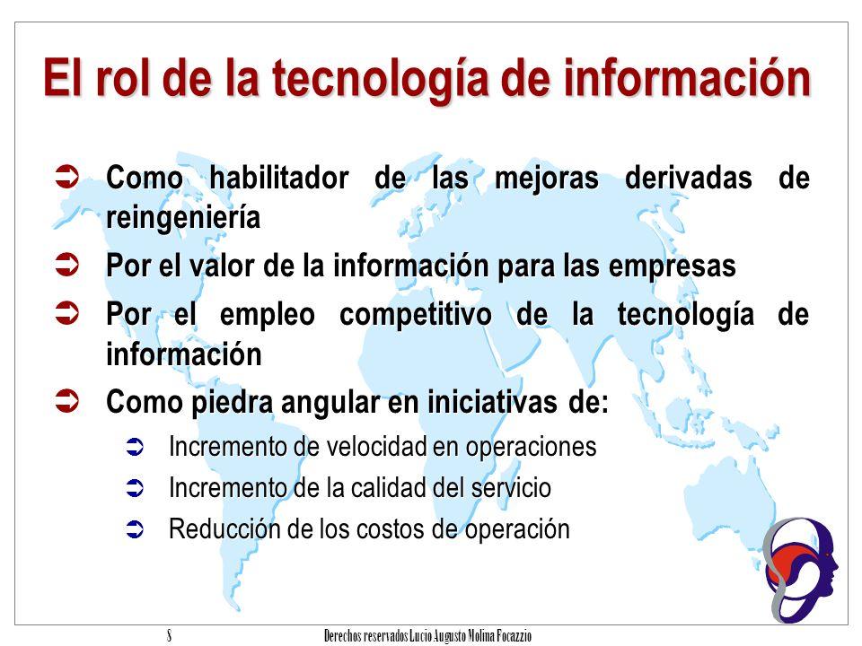 El rol de la tecnología de información