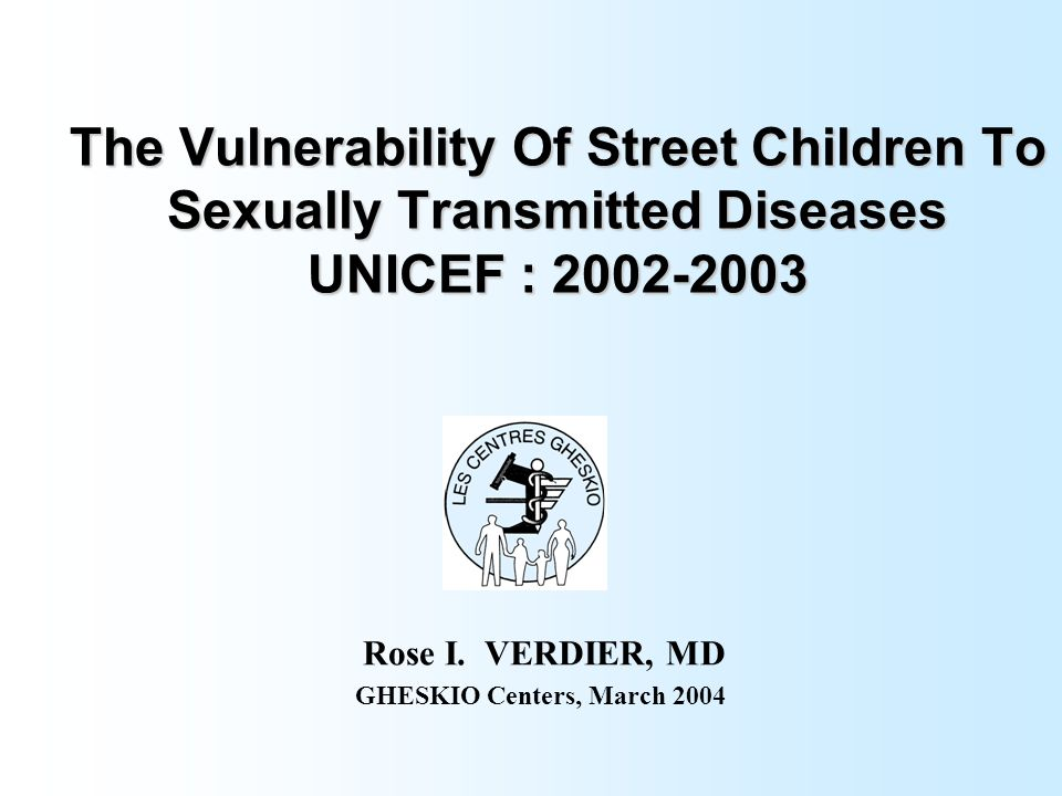 Rose I. VERDIER, MD GHESKIO Centers, March 2004