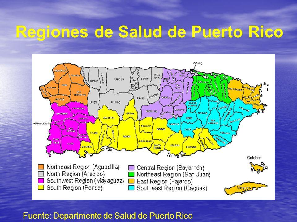 Regiones de Salud de Puerto Rico