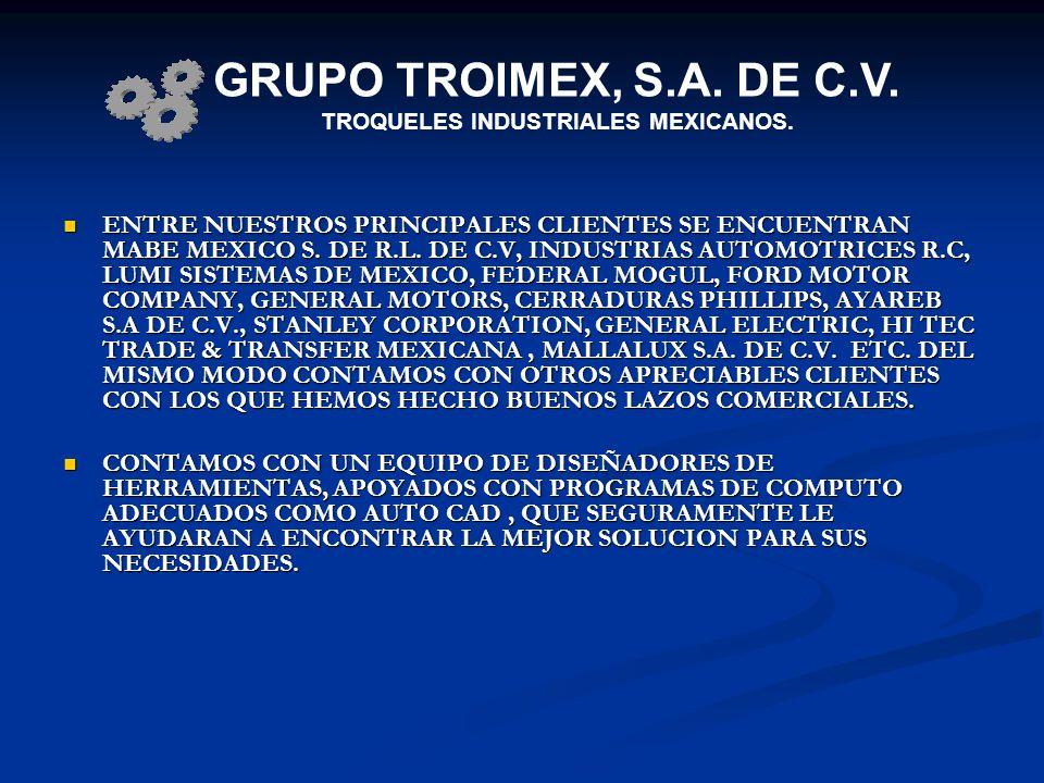 TROQUELES INDUSTRIALES MEXICANOS.