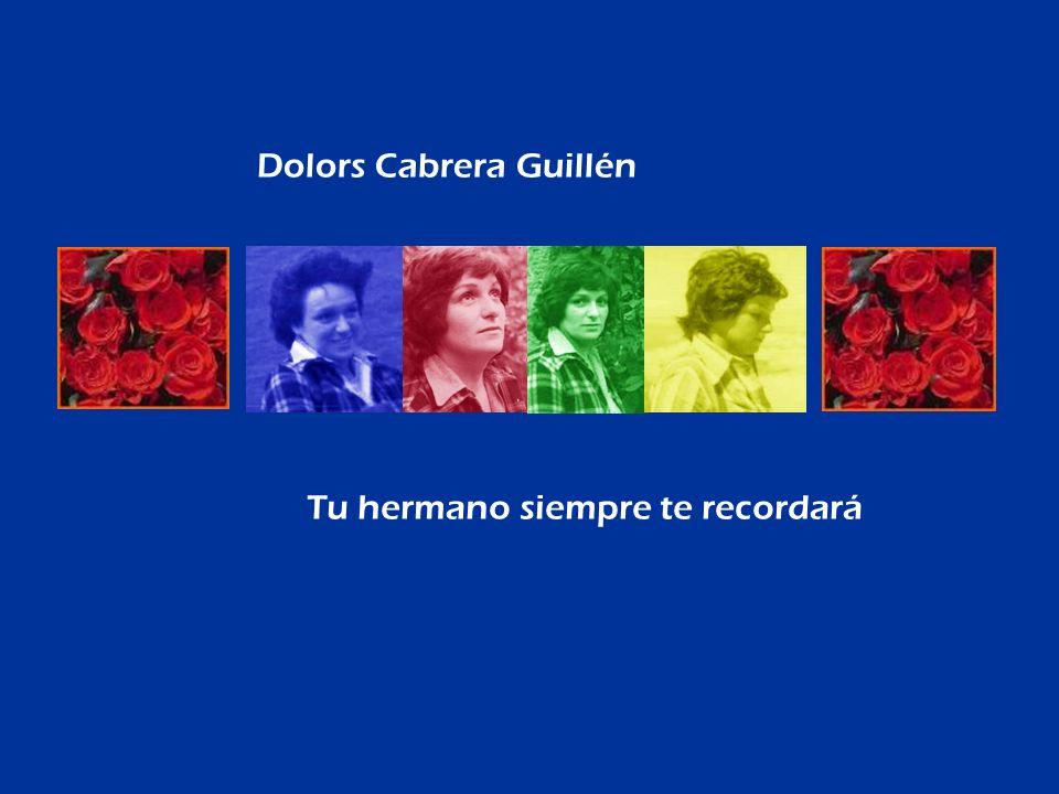 Dolors Cabrera Guillén