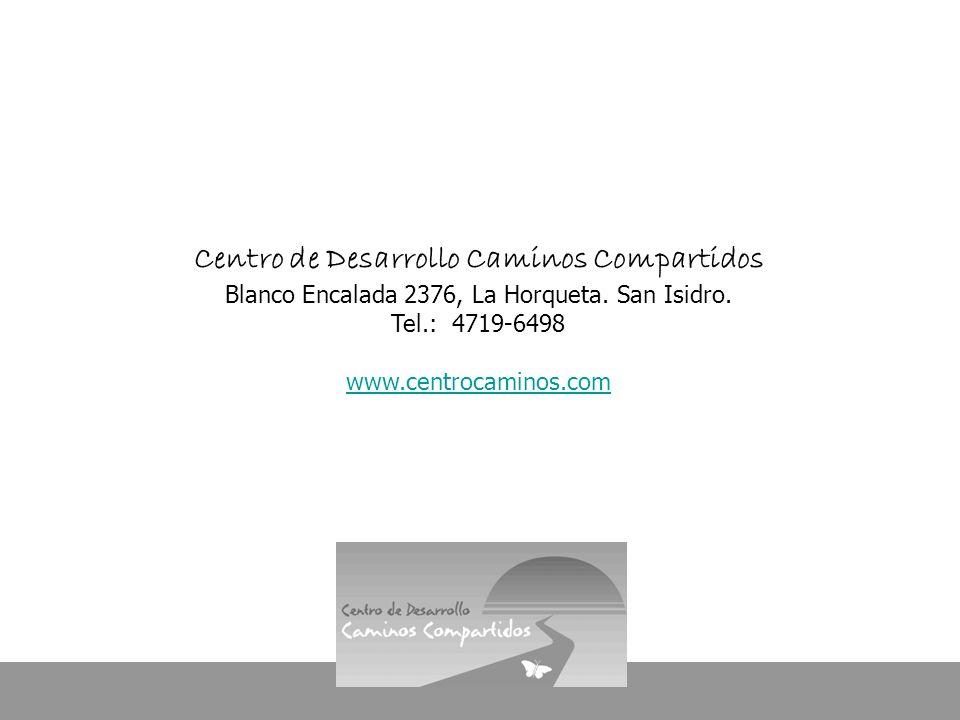 Centro de Desarrollo Caminos Compartidos