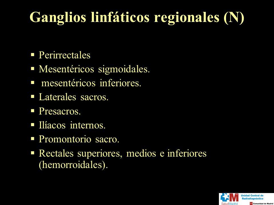 Ganglios linfáticos regionales (N)
