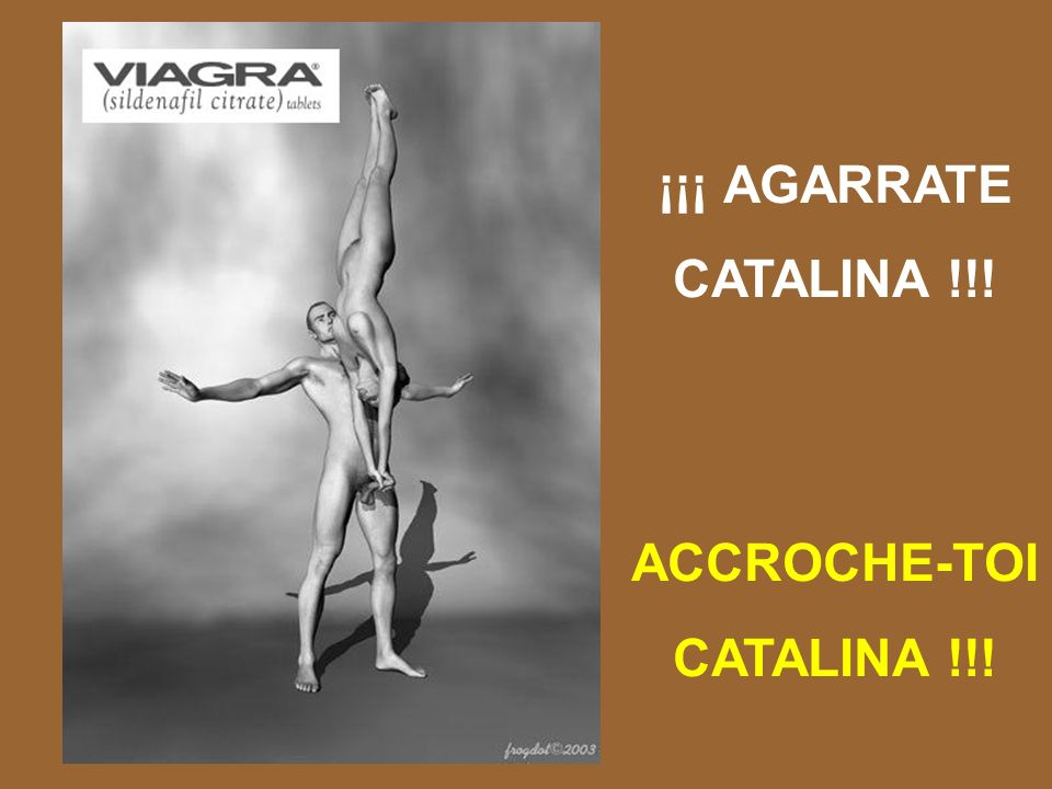 ¡¡¡ AGARRATE CATALINA !!! ACCROCHE-TOI