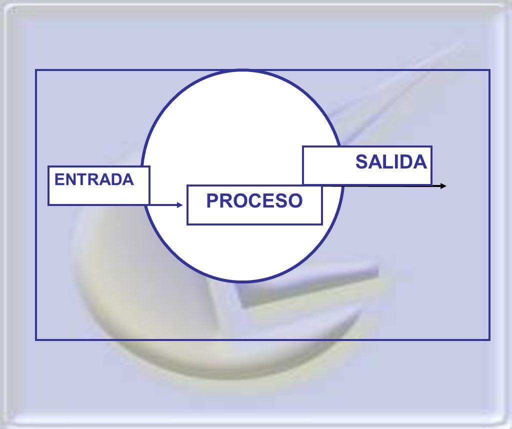 ENTRADA SALIDA PROCESO .