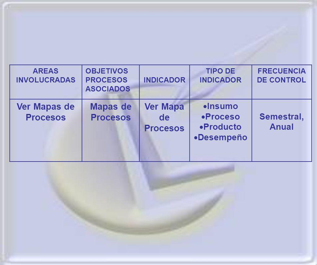 Ver Mapas de Procesos Mapas de Procesos Ver Mapa de Procesos