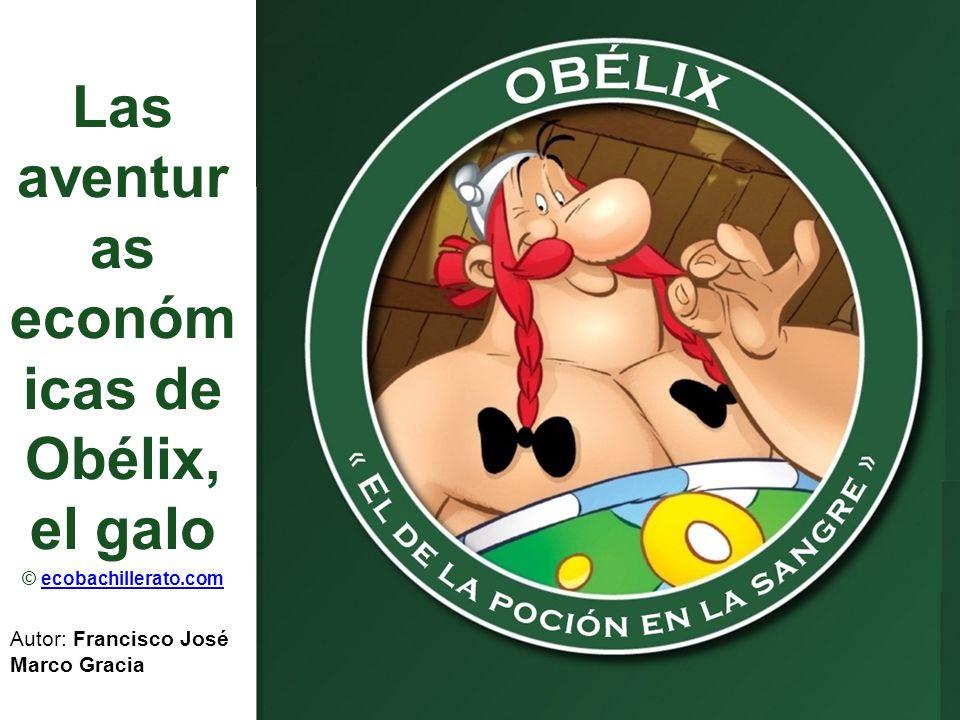 Las aventuras económicas de Obélix, el galo