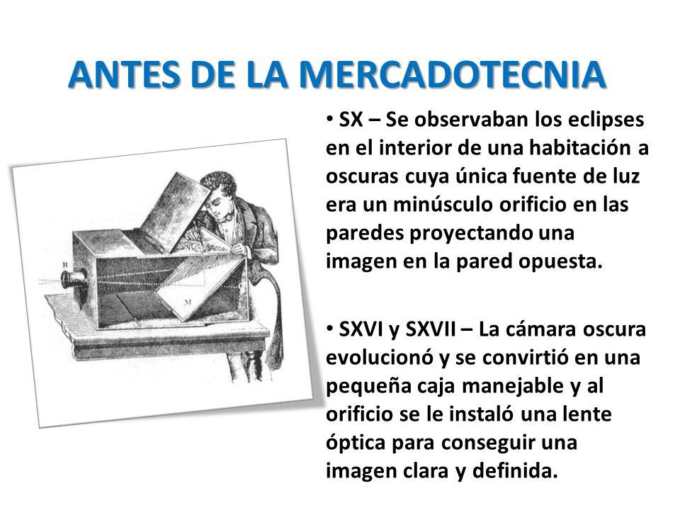 ANTES DE LA MERCADOTECNIA