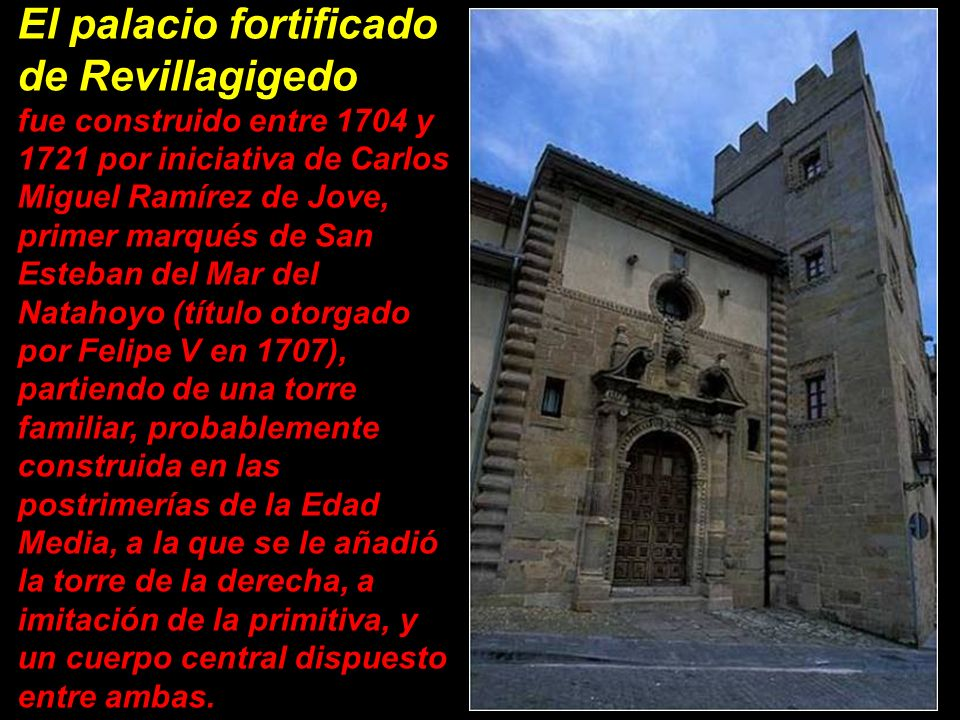El palacio fortificado de Revillagigedo