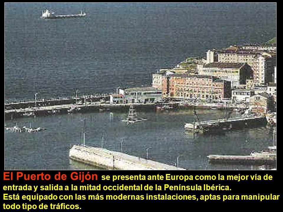 El Puerto de Gijón se presenta ante Europa como la mejor vía de entrada y salida a la mitad occidental de la Península Ibérica.