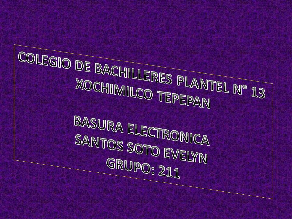COLEGIO DE BACHILLERES PLANTEL N° 13