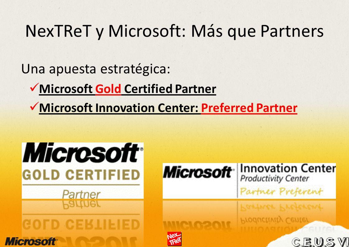 NexTReT y Microsoft: Más que Partners