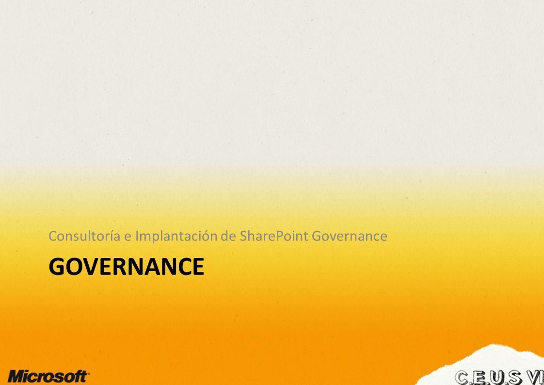 Consultoría e Implantación de SharePoint Governance
