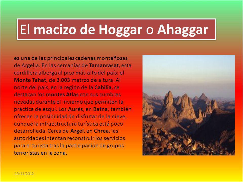 El macizo de Hoggar o Ahaggar