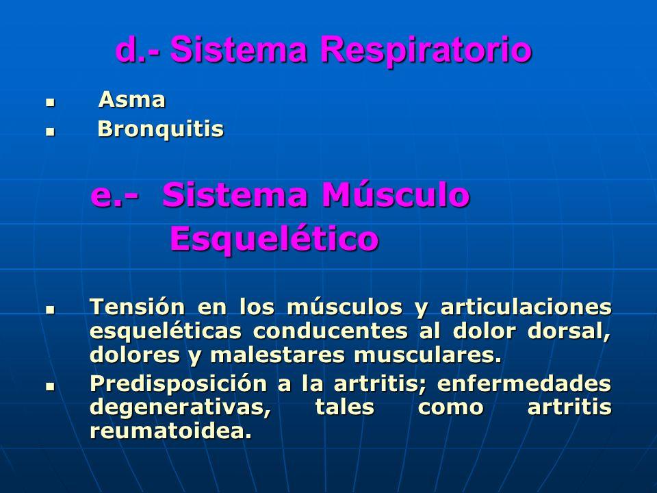 d.- Sistema Respiratorio