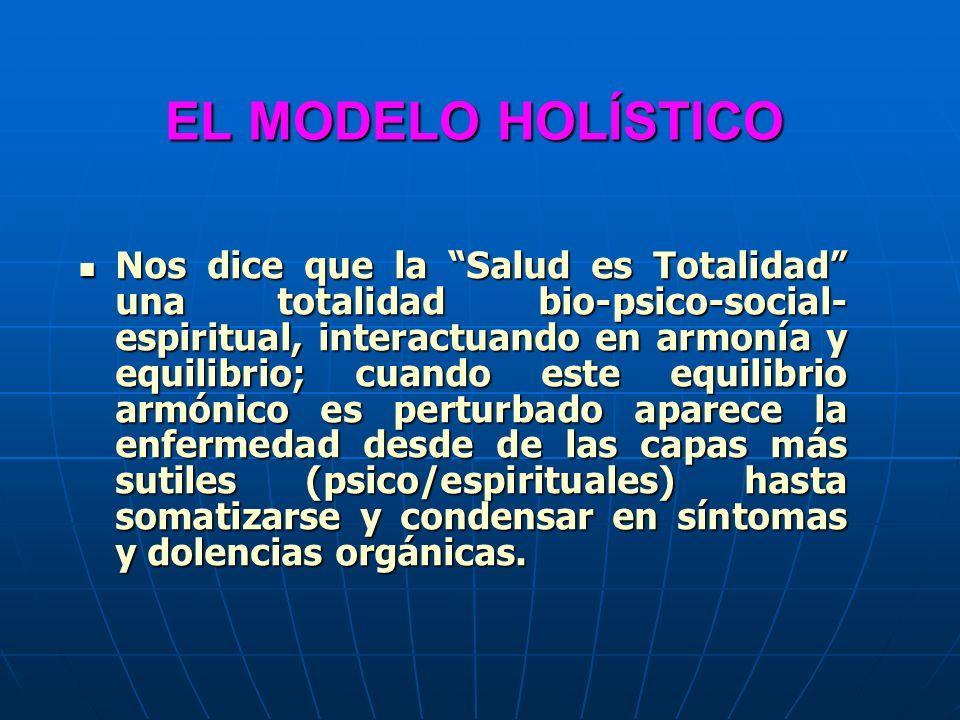 EL MODELO HOLÍSTICO