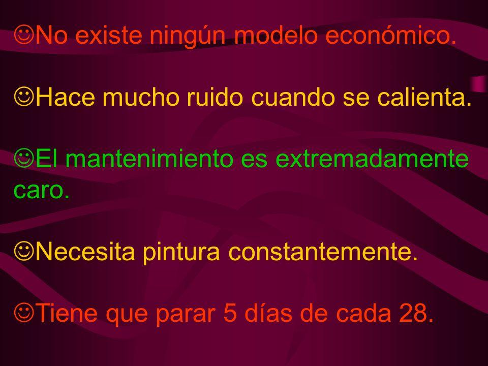 No existe ningún modelo económico.
