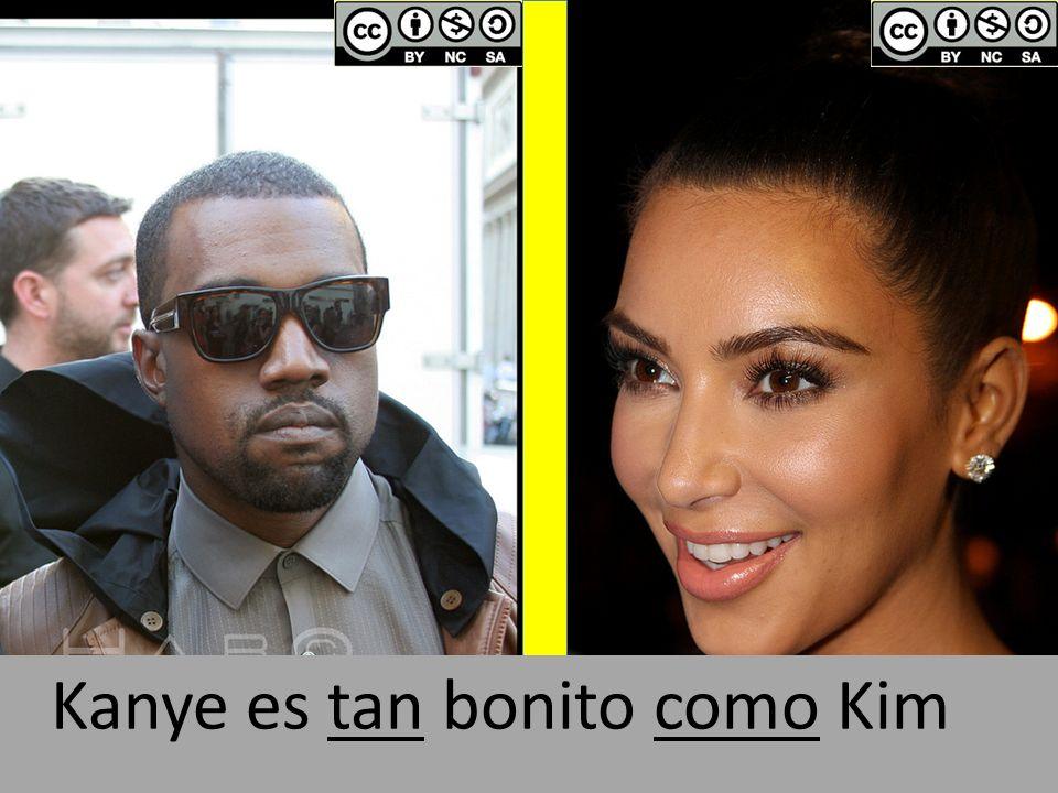Kanye es tan bonito como Kim