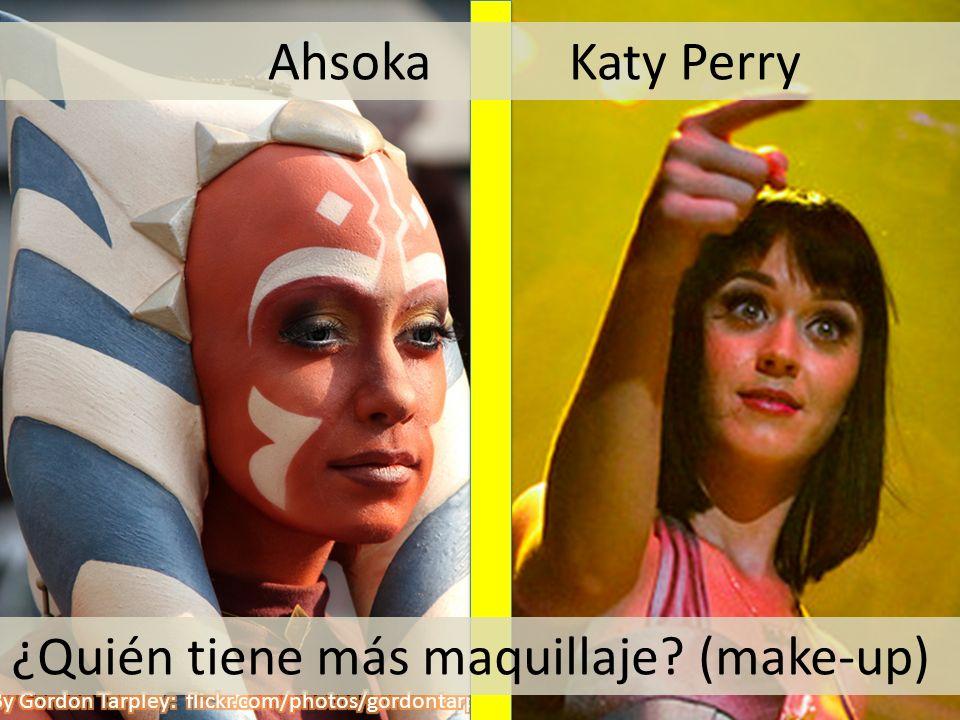 ¿Quién tiene más maquillaje (make-up)