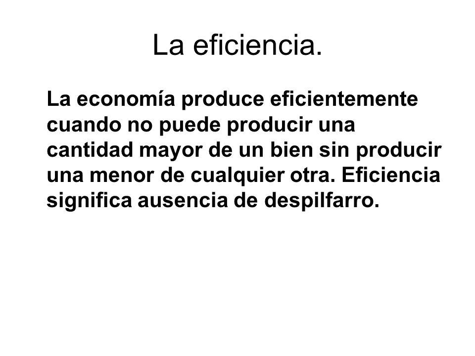 La eficiencia.