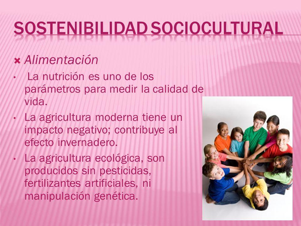Sostenibilidad sociocultural