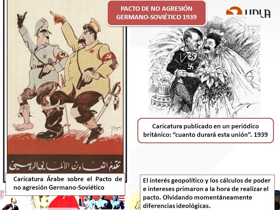 PACTO DE NO AGRESIÓN GERMANO-SOVIÉTICO 1939